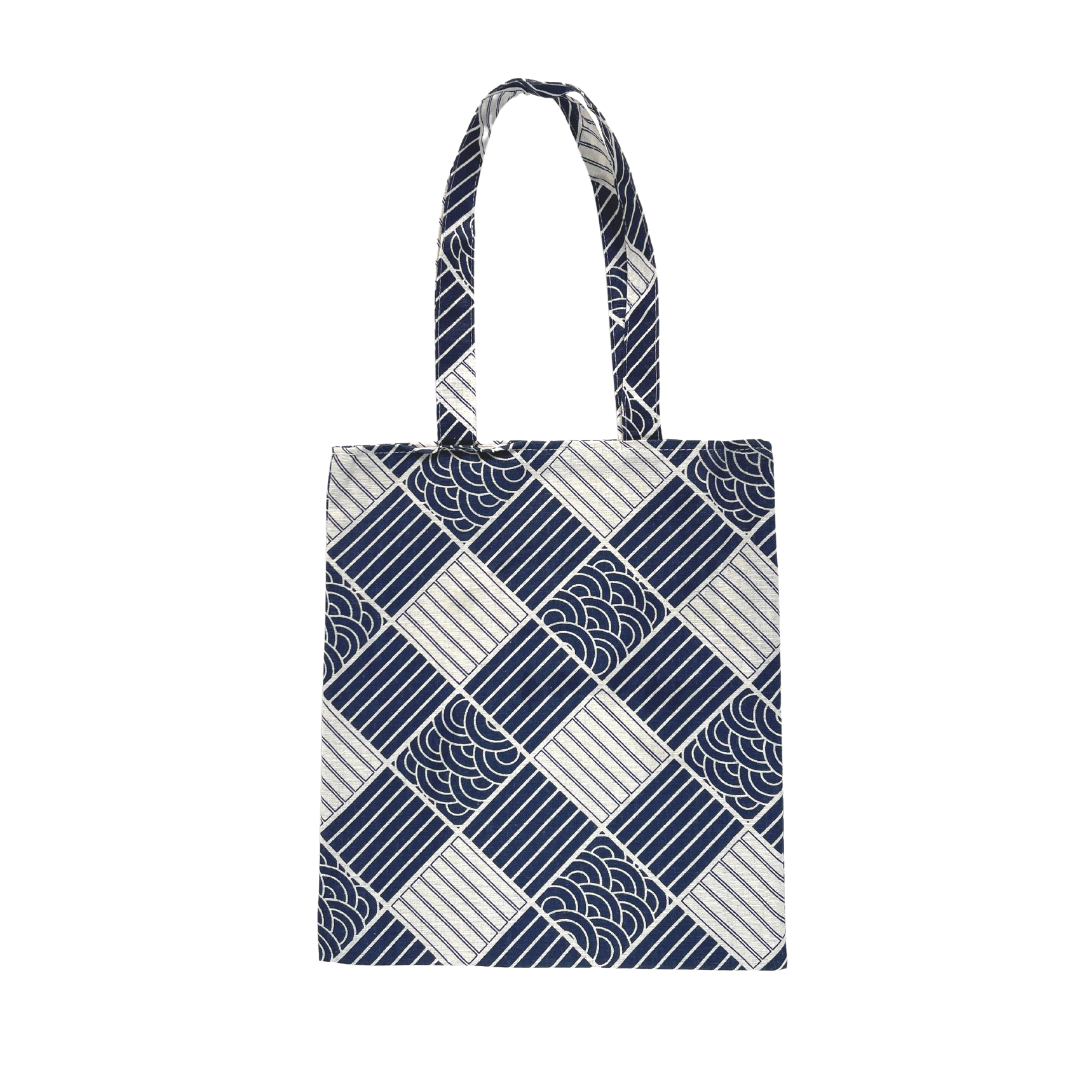 JR Wave Tote Bag (Blue)