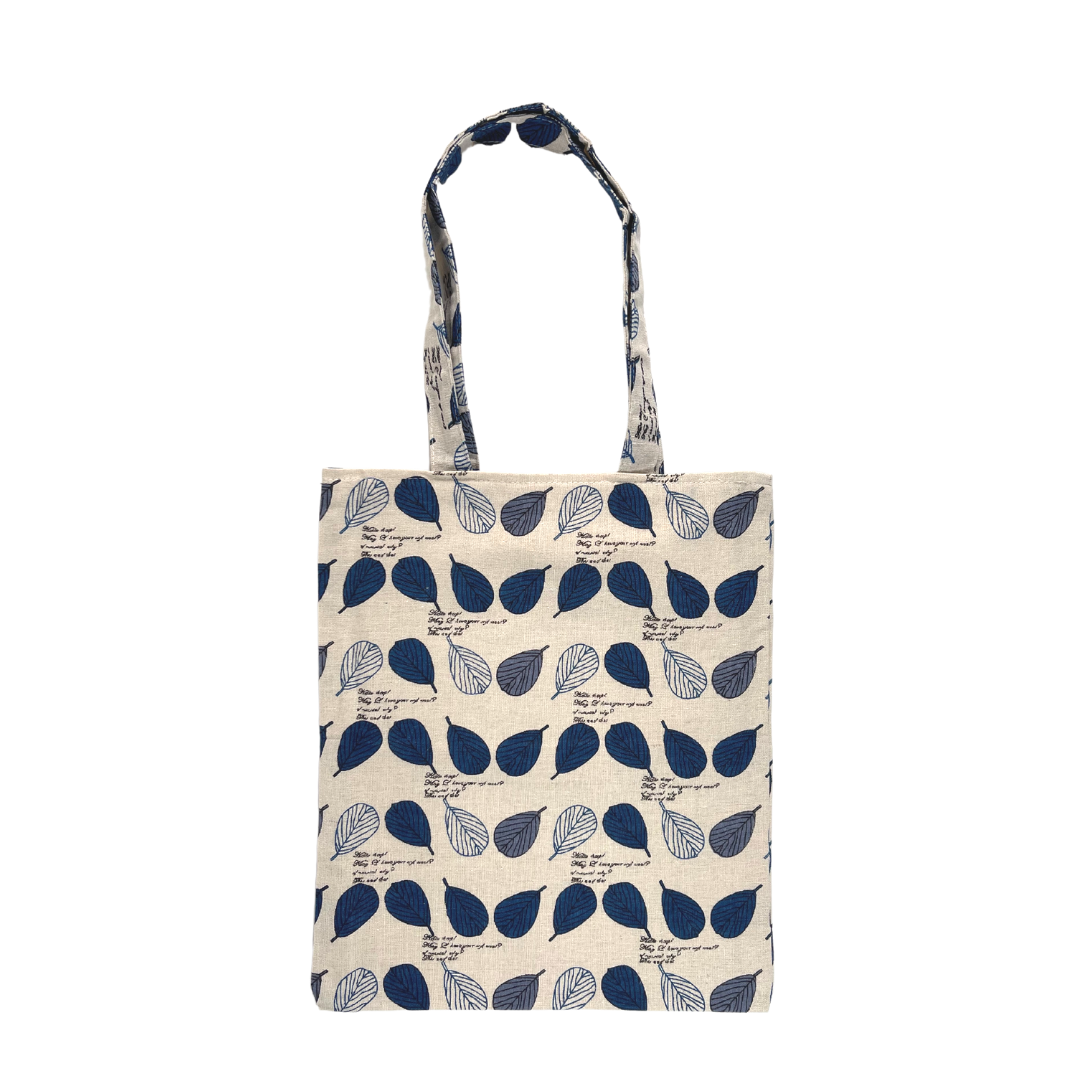 (Leaves Blue) Tote Bag