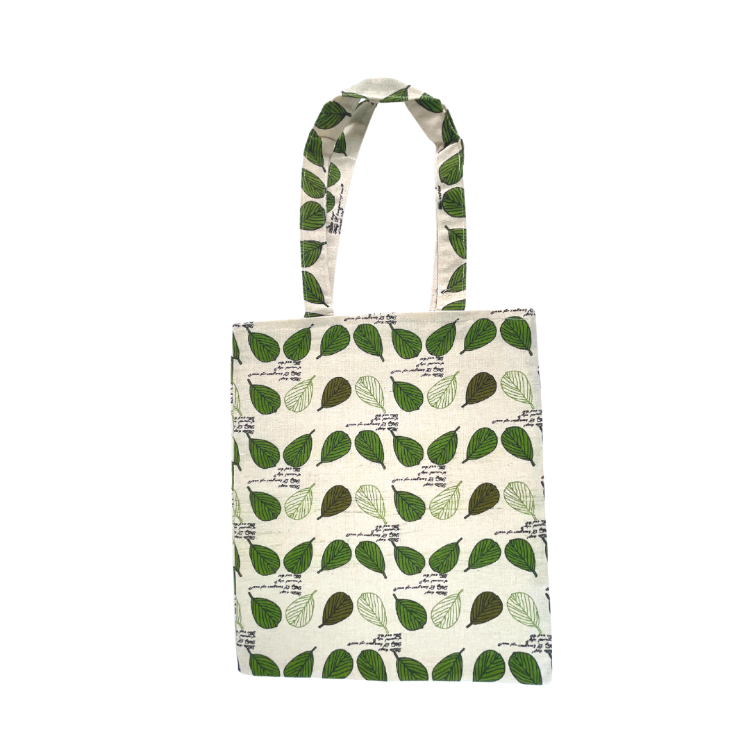 Leaves Green Tote Bag