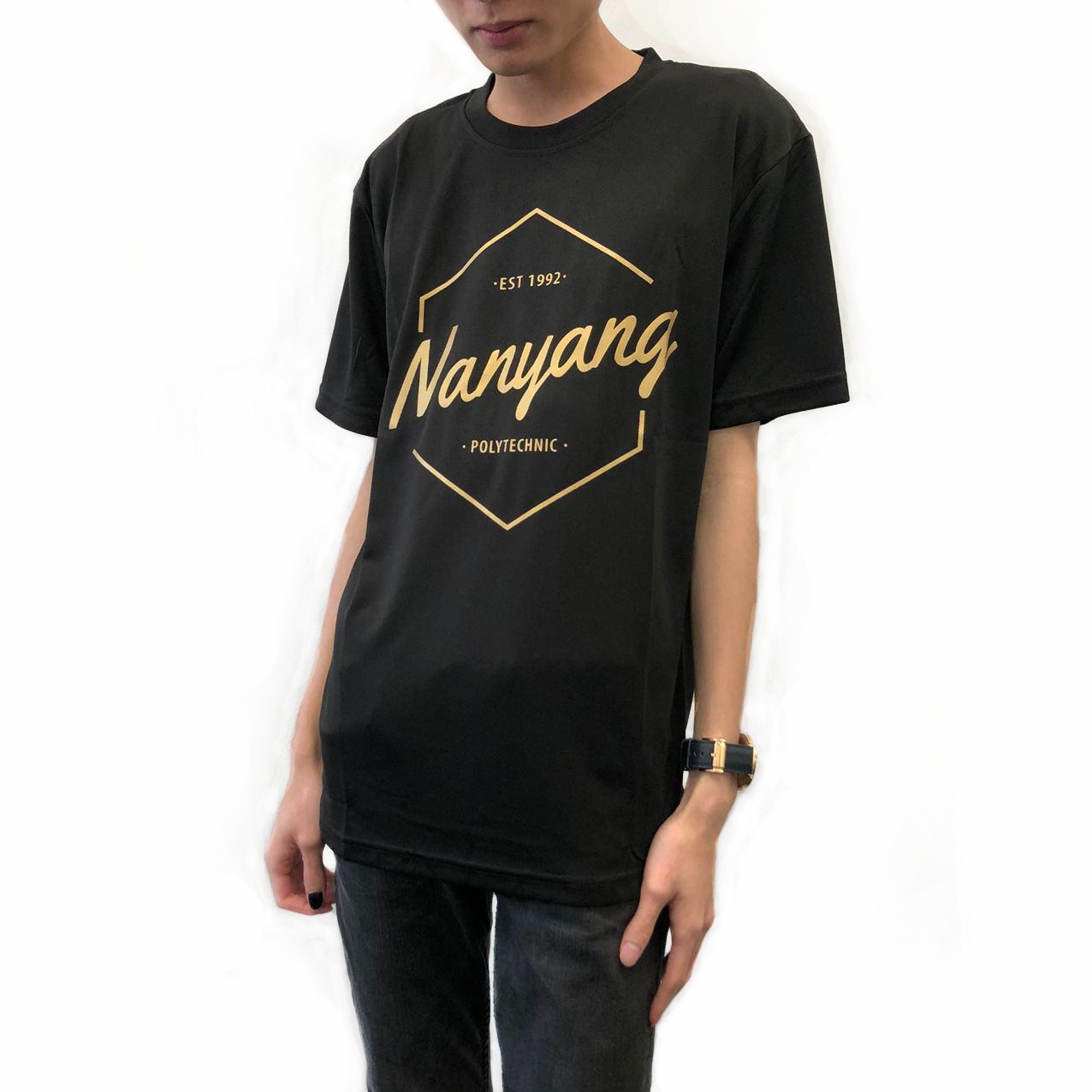 NYP HEX DRI-FIT TEE BLACK