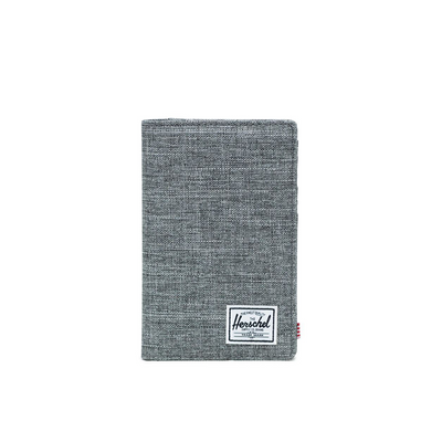HERSCHEL SEARCH PASSPORT HOLDER RAVEN X - D'Studio