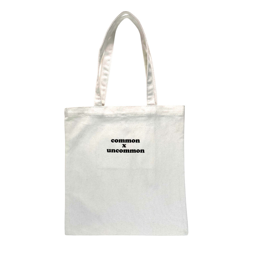 Common White Tote Bag
