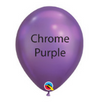 "11"" CHROME ROUND LATEX BALLOONS"