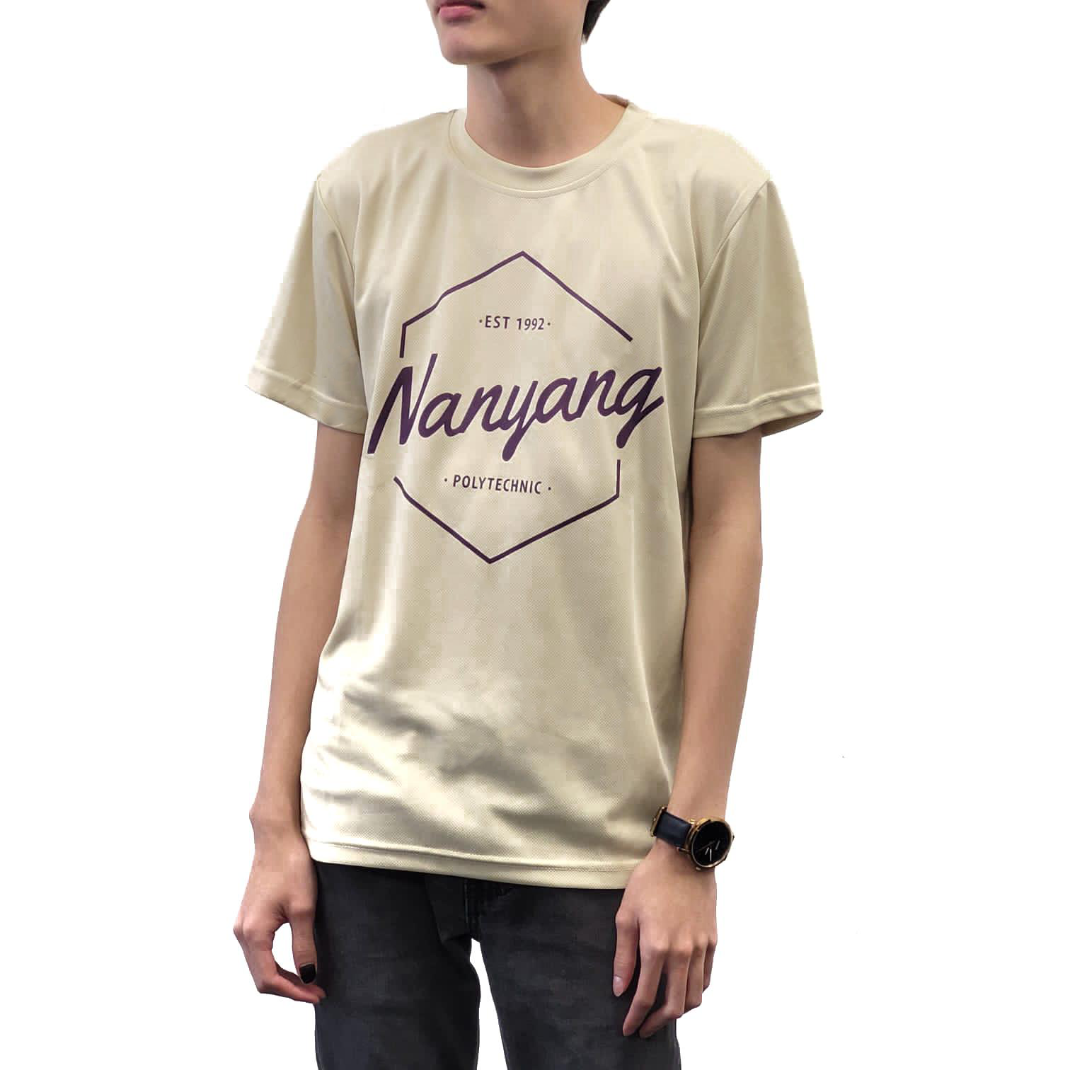 NYP HEX DRI-FIT TEE CREAM