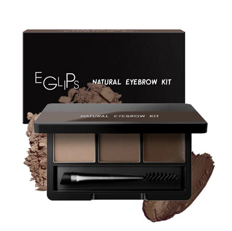 Eglips Natural Eyebrow Kit #01 Natural Brown - D'Studio
