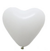 "12"" STANDARD HEART LATEX BALLOONS"