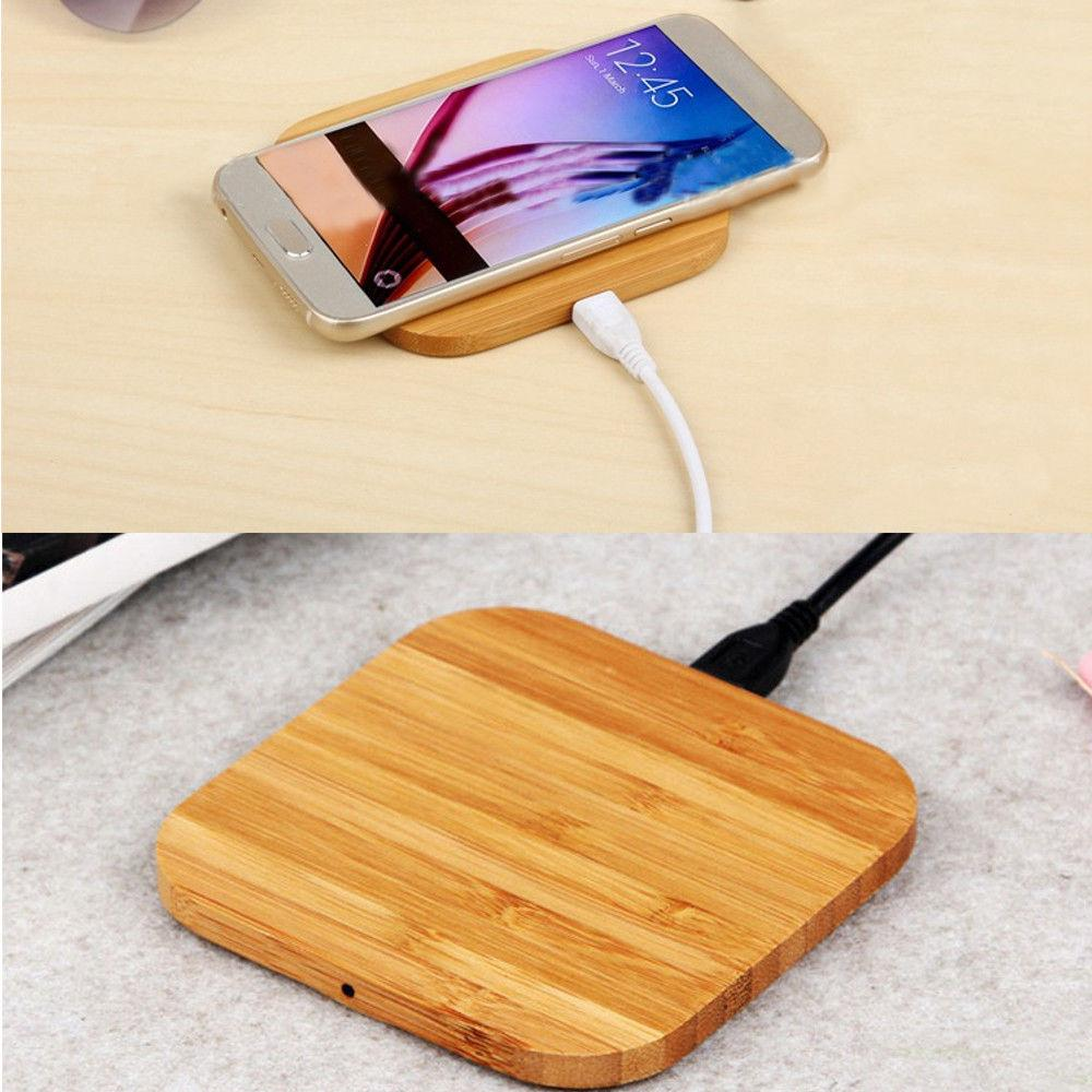 Premium Qi Wireless Wood Phone Charger