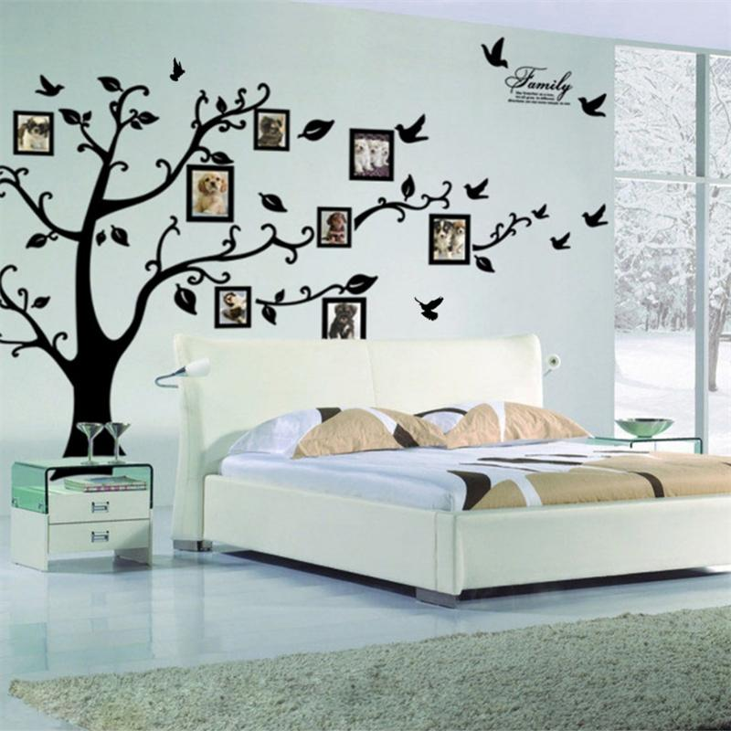 Tree Flying Birds Wall Sticker