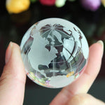 The HandWorld™ | Crystal Globe Storm Glass