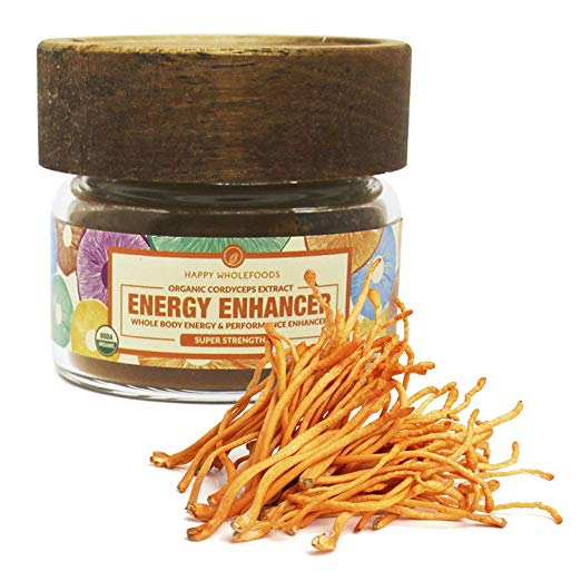 ENERGY ENHANCER - Pure Cordyceps Powder - Cordyceps Extract from Cordyceps mushroom