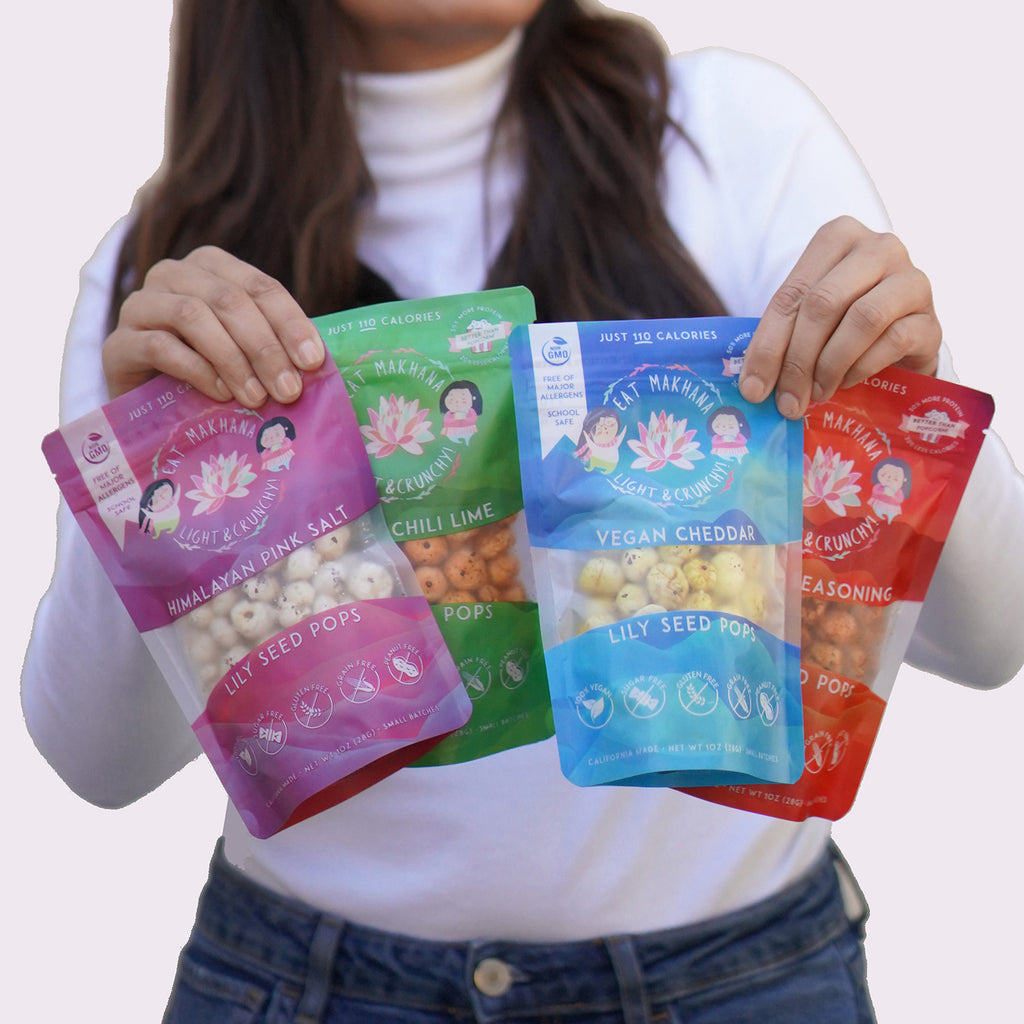 Variety Pack Lily Seed Pops • 4 pack • Large • 110 calories
