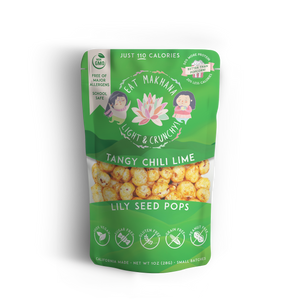 Variety Pack Lily Seed Pops • 4 pack • Large • 110 calories - Eat Makhana