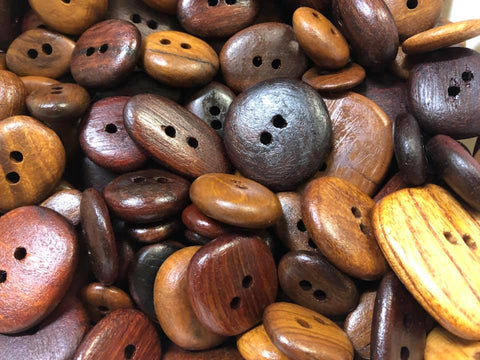 Nullarbor Bead Buttons from Chunky Timber Co.