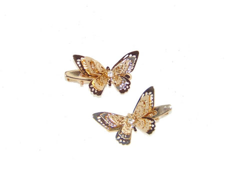 Butterfly lady Hair clip set
