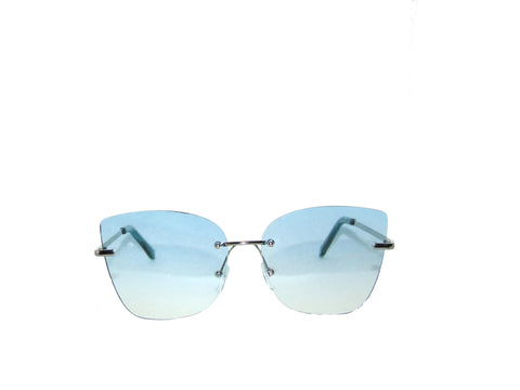Pretty Girl cat Sunglasses- Blue