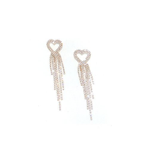 Love don't cost a thing drop earrings