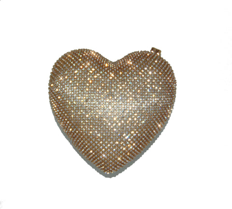 Heart of Glass Purse - Gold