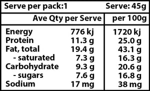 Chocolate Protein Bar Nutritional Information