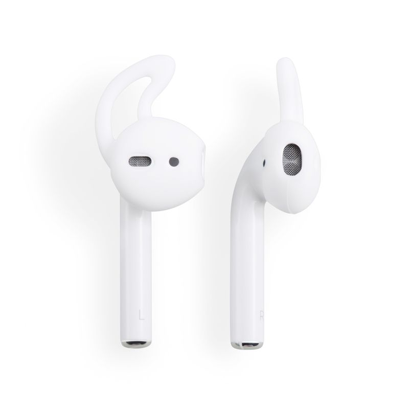 1/2/3 Pair Ear Hooks Silicone Skin Cover For Apple AirPods AirPod Headphones