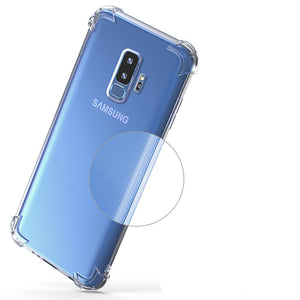 Air Cushion Case Crystal TPU Silicone Cover Galaxy S9 S8 Plus S7 Edge Note 5 8 9 A3 A5 A7 A8 J3 J5 J7