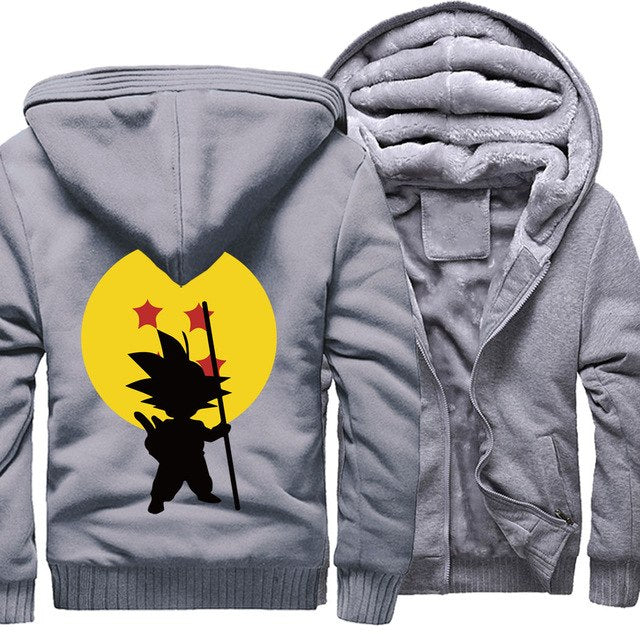 Dragon Ball Z Wool Lined Hoodie