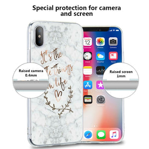 Rose Marble Case For Samsung Galaxy A3 A5 A7 J3 J5 J7 Soft TPU Case For Samsung Galaxy Note 9 8 S9 S8 Plus S7