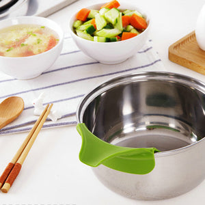 Leak-proof Kitchen Silicone Funnel