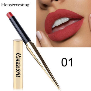 8 colors Long Lasting Waterproof Makeup Lipstick Silky Texture