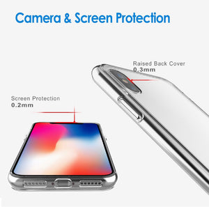 Apple iPhone X Xs Max / XR Case Crystal Clear Slim Light Shockproof Cover