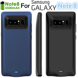 Ultra-Slim 5500mAh External Battery Power Charging Case Samsung Galaxy Note 8-US