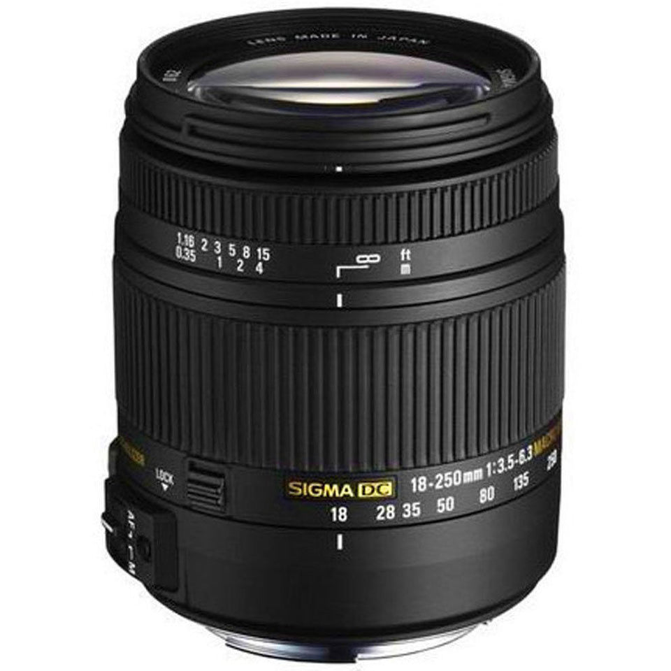 Sigma 18-250mm F3.5-6.3 DC OS HSM Lens - Your Choice in Lens Mount
