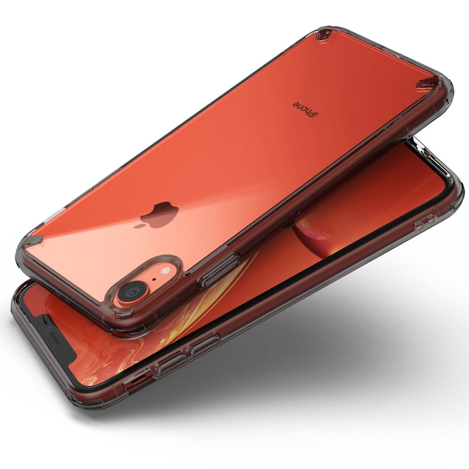 iPhone XR Slim Hybrid Shockproof Clear Protective Cover Case