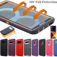 Samsung Galaxy S10+ Note 8 9 Hard Case Shockproof Hybrid Tough Armor Full Cover