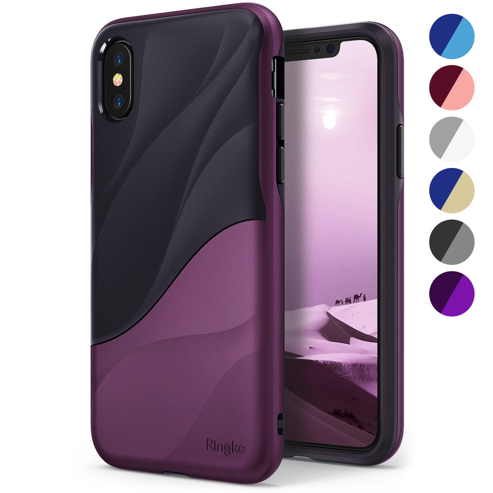 For iPhone X 10 Shockproof PC TPU Dual Layer Design Case Cover