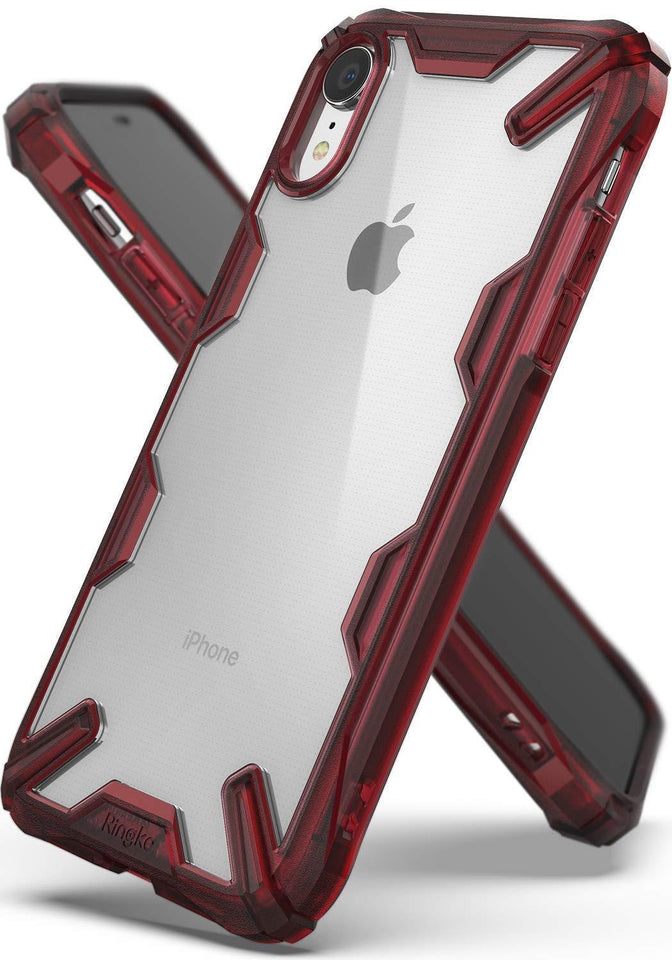 iPhone XR XS Max XS Hybrid Clear Shockproof TPU Case Cover