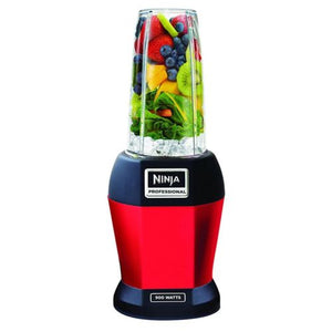 Nutri Ninja BL456 900W Professional Smoothie Blender with Nutri Ninja Cups, Red