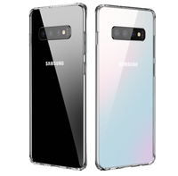 Samsung Galaxy S10+ Plus Clear Transparent Case Shock Absorption TPU Soft Cover