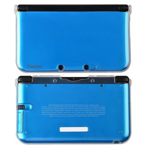 Clear Rubber TPU Soft Gel Game Protective Skin Case Cover for Nintendo 3DS XL
