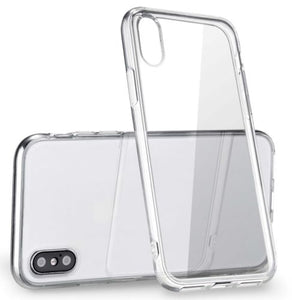 For Apple iPhone X Case Silicone Crystal Clear Bumper Gel iPhone 10 Cover