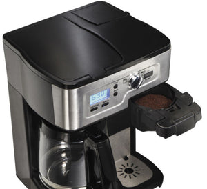 Hamilton Beach 2-Way FlexBrew 1-12 Cup K-Cup Ready Coffee Maker Brewer 49983