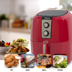 1800W 5.8 QT XL Electric Air Fryer Healthy Low-Fat Multi-Cooker Oilless Cook NEW