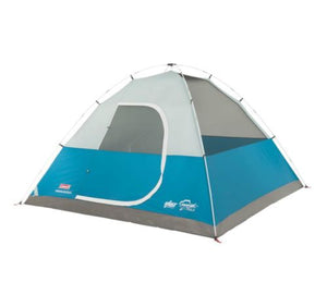 NEW! COLEMAN Longs Peak 6 Person Fast Pitch Family Camping Dome Tent | 10' x 10'
