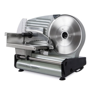 "8.7"" Blade 180W Commercial Meat Slicer Electric Deli Slice Veggie Cutter Kitchen"