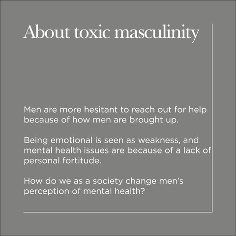 About Toxic Masculinity