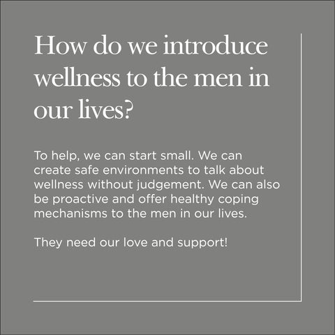 Introducing wellness to the men in our lives