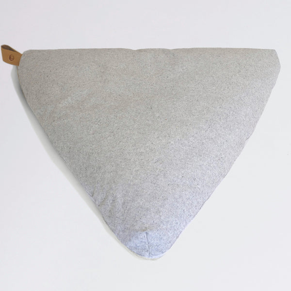 Slate Grey meditation floor cushion-project full