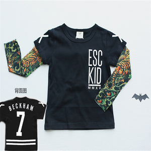 Tattoo Sleeve Tee - Beckham