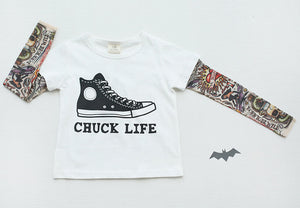 Tattoo Sleeve Tee - Chuck Life
