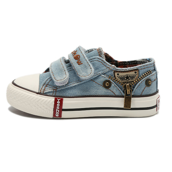 Boys Denim Velcro Casual