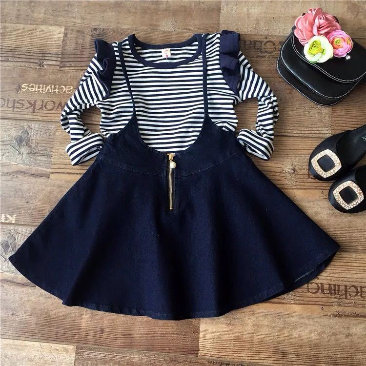 Striped Top & Tunic Dress